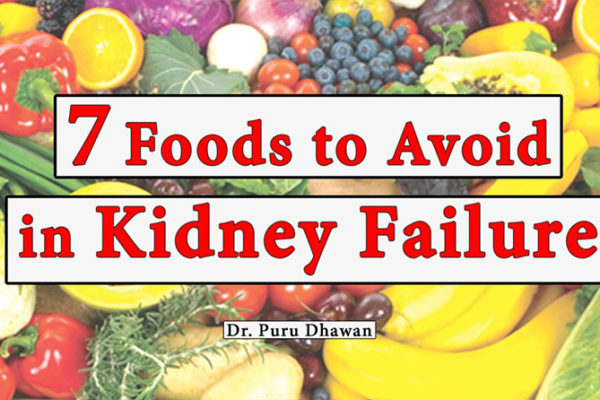 7 Foods to Avoid in Kidney Failure
